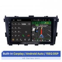 9 pouces HD écran tactile pour 2014 Baic Huansu système de navigation GPS voiture GPS Navigation Stéréo Support 3G 4G Wifi AHD caméra