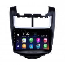 Système de navigation OEM 9 pouces Android 10.0 Radio pour 2014 Chevy Chevrolet Aveo 1024 * 600 Écran tactile Lecteur MP5 Tuner TV Télécommande Musique Bluetooth