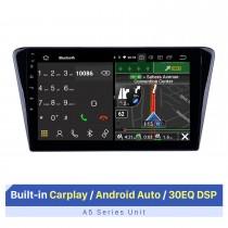 Écran tactile HD de 10,1 pouces pour 2014 Peugeot 408 lecteur DVD de voiture stéréo mise à niveau du lecteur DVD de voiture avec prise en charge Wifi Radio FM / AM / RDS