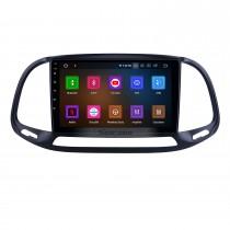 Écran tactile HD 9 pouces pour 2015 2016 2017 2018 2019 Fiat Doblo Radio Android 11.0 Système de navigation GPS Bluetooth WIFI Carplay support DSP