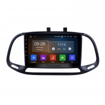 Android 10.0 Pour 2015 2016 2017 2018 Fiat Dobe 10 Radio 9 pouces Navigation GPS Bluetooth HD Écran tactile USB Carplay support DVR SWC