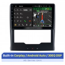 Écran tactile HD de 9 pouces pour 2015-2018 Sepah Pride AUTO A / C stéréo autoradio lecteur stéréo système stéréo de voiture Support OBD2