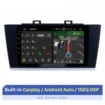 Écran tactile HD de 9 pouces pour lecteur DVD de voiture Subaru Legacy GPS Navi 2015-2018 avec prise en charge Bluetooth lecteur vidéo 1080P