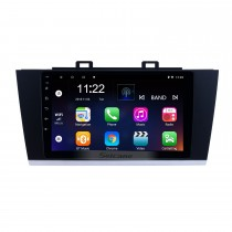 9 pouces Android 10.0 Radio de navigation GPS pour 2015-2018 Subaru Legacy Avec HD écran tactile Bluetooth support Carplay caméra arrière
