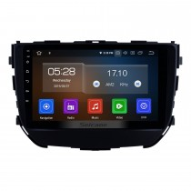 OEM Android 10.0 9 pouces Stéréo de voiture pour 2017 2017 2018 Suzuki BREZZA avec système de navigation GPS Bluetooth HD écran tactile Wifi FM MP5 musique support USB Lecteur de DVD SWC OBD2 Carplay