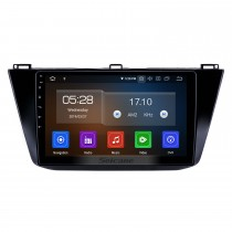 10.1 pouces 2016-2018 VW Volkswagen Tiguan Android 10.0 Navigation GPS Radio Bluetooth HD Écran tactile AUX USB Support Carplay Miroir Lien