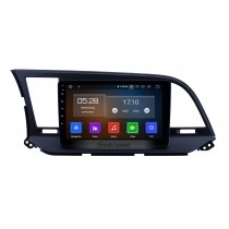 9 pouces aftermarket Android 10.0 HD Touchscreen Head Unit GPS Navigation System For 2016 Hyundai Elantra LHD with USB Support OBD II DVR 3G / 4G WIFI Rearview Camera