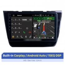 Écran tactile HD de 10,1 pouces pour 2017-2020 MG ZS stéréo Bluetooth autoradio lecteur stéréo prise en charge de l'écran tactile 2.5D IPS
