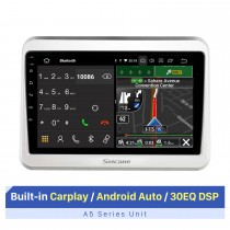 9 pouces Android pour 2017-2021 SUZUKI SPACIA système audio de voiture avec support Bluetooth RDS DSP Navigation GPS lecteur vidéo 1080P