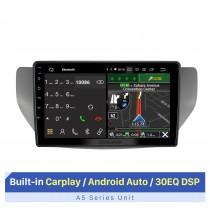 Navigation GPS stéréo de voiture Android pour 2017 FAW SENIA S80 M80 avec RDS DSP Carplay Support écran tactile Bluetooth WIFI Commande au volant