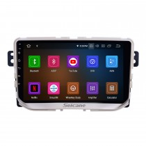 Pour 2017 Great Wall Haval H2 (étiquette rouge) Radio 9 pouces Android 11.0 HD écran tactile Bluetooth avec système de navigation GPS Support Carplay 1080P vidéo