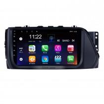 9 pouces 2017 Hyundai VERNA Android 10.0 Voiture Lecteur Multimédia Bluetooth Radio avec Système de Navigation GPS Wifi musique Lien Miroir Support USB Volant Contrôle DVR Caméra de Recul OBD2 DAB +