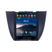 2017 MG ZS 9,7 pouces Android 10.0 Radio de navigation GPS avec écran tactile HD Prise en charge Bluetooth WIFI AUX Caméra de recul Carplay