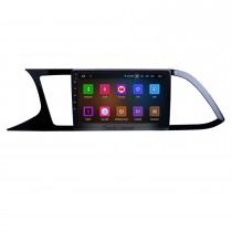 Écran tactile HD pour 2018 Seat Leon Radio Android 11.0 9 pouces Système de navigation GPS Bluetooth WIFI Carplay support DAB + Caméra de recul