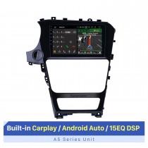 Écran tactile HD de 10,1 pouces pour 2018 Venucia T70 système audio de voiture autostéréo haut de gamme support de lecteur stéréo d'autoradio OBD2