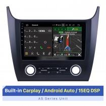 Écran tactile HD de 10,1 pouces pour 2019 Changan Cosmos Manuel AC Système de navigation GPS Bluetooth Autoradio Support Carplay sans fil