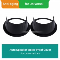 Black Speaker Water Proof Cover pour Universal
