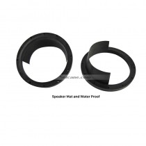 Car Black Ring Speaker Mat and Water Proof Cover for Universal
