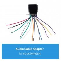 Adaptateur de câblage de câblage de voiture Câble de son audio pour VOLKSWAGEN POLO / Passat / Jetta / Bora / Santana / Golf / Touran / Octavia / Audi / Peugeot 307 / Sharan / Zunchi / Buick FirstLand / Roewe
