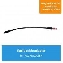 Adaptateur de prise de câble d'antenne de voiture haut de gamme pour VOLKSWAGEN / New Ford