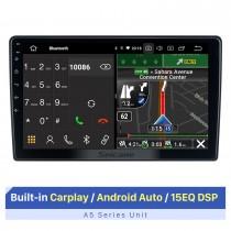 Écran tactile HD de 10,1 pouces pour CITROEN BERINGO C3-XR GPS Navi autoradio lecteur stéréo Support lecteur vidéo 1080 P