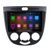 Android 11.0 Pour 2003-2008 Chevrolet Optra / 04-08 Buick Excelle hayon HRV climatisation manuelle Radio 9 pouces Système de navigation GPS avec écran tactile Bluetooth HD Support Carplay DSP