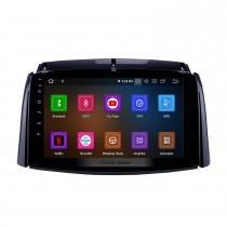 9 pouces Android 11.0 Radio de navigation GPS pour 2009-2016 Renault Koleos avec écran tactile HD Carplay AUX Bluetooth support 1080