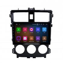 9 pouces Android 11.0 pour 2013 Mitsubishi COLT Plus Radio système de navigation GPS avec écran tactile HD Bluetooth Carplay support OBD2