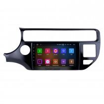 2012-2015 Kia Rio LHD Android 11.0 Radio de navigation GPS 9 pouces avec Bluetooth HD à écran tactile USB Prise en charge de la musique Carplay TPMS DAB + Lien vidéo 1080p avec miroir