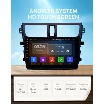 9 pouces Android 11.0 Radio de navigation GPS pour 2015-2018 Suzuki Celerio avec écran tactile HD prise en charge Carplay AUX Bluetooth TPMS