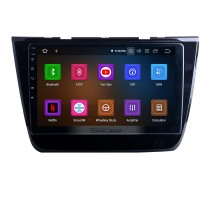 Écran tactile HD pour 2017 2018 2019 2020 MG-ZS Radio Android 11.0 10.1 pouces Système de navigation GPS Bluetooth WIFI Carplay support DSP