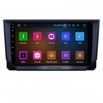 Android 11.0 9 pouces Radio de navigation GPS pour 2018 Seat Ibiza avec écran tactile HD Carplay USB support Bluetooth DVR OBD2 TV numérique