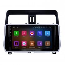 10,1 pouces Android 11.0 Radio de navigation GPS pour 2018 Toyota Prado Bluetooth HD écran tactile AUX Carplay support caméra de recul