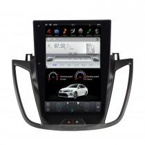 12,1 pouces Android 9.0 lecteur multimédia stéréo de voiture pour 2013-2015 FORD KUGA / Escape (deuxième génération) Système de navigation GPS avec radio DVD Bluetooth Carplay
