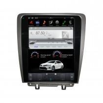 12.1 pouces Android 9.0 lecteur multimédia stéréo de voiture pour 2010-2014 Ford Mustang système de navigation GPS avec Radio DVD Bluetooth Carplay