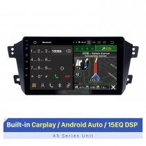 9 pouces HD écran tactile pour Geely King GX7 système de navigation GPS Bluetooth autoradio système stéréo de voiture Support FM AM RDS Radio