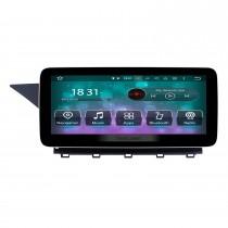 10,25 pouces Android 10.0 Autoradio pour Mercedes Benz Classe GLK X204 GLK200 GLK250 2008-2015 Radio à écran tactile Bluetooth WIFI Navigation GPS Lecteur vidéo 1080P Prise en charge SWC Caméra de recul DVR