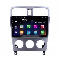 Pour 2004 2005 2006 2007 2008 Subaru Forester Radio 9 pouces Android 10.0 HD Système de navigation GPS à écran tactile avec prise en charge Bluetooth Carplay