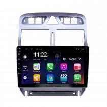 9 pouces Android 10.0 HD Ecran tactile Navigation GPS Radio pour 2007-2013 Peugeot 307 avec prise en charge de Bluetooth AUX DVR Carplay Commande au volant