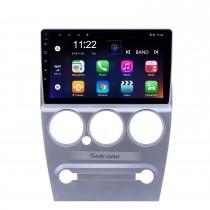 9 pouces Android 10.0 Radio de navigation GPS pour 2008-2013 Citroen Elysee avec support tactile Bluetooth WIFI HD Carplay DVR
