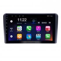 Android 10.0 9 pouces pour 2008 2009 2010 2011 2012 Audi A3 Radio HD à écran tactile Navigation GPS avec prise en charge de Bluetooth AUX Carplay DVR