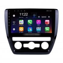 2012 2013 2014 2015 VW Volkswagen SAGITAR Système de navigation GPS Android 10.0 Radio 1024 * 600 Écran tactile Bluetooth Musique WIFI Commande de volant Assistance USB OBD2 DVR Caméra de recul