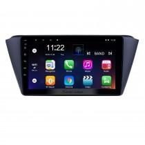 9 pouces Android 10.0 Radio de navigation GPS pour 2015-2018 Skoda New Fabia avec écran tactile Bluetooth Bluetooth WIFI AUX soutien Carplay SWC TPMS