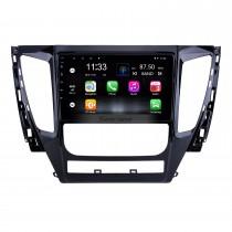 9 pouces Android 10.0 pour 2015 2016 2017 Mitsubishi Pajero Sport Radio Système de navigation GPS avec écran tactile HD Bluetooth support Carplay DVR