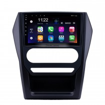 OEM 9 pouces Android 10.0 Radio pour 2015 Mahindra Scorpion Auto A / C Bluetooth WIFI HD Écran Tactile Navigation GPS soutien Carplay DVR caméra de recul