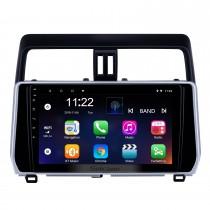 10,1 pouces Android 10.0 Radio de navigation GPS pour 2018 Toyota Prado avec support de l'écran tactile HD Bluetooth contrôle Carplay au volant
