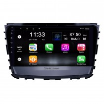 10,1 pouces Android 10.0 HD Radio tactile Navigation GPS pour 2019 Ssang Yong Rexton avec Bluetooth WIFI AUX support Carplay Mirror Link