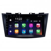 9 pouces Android 10.0 2011-2013 SUZUKI SWIFT Radio auto matique navigation GPS Système audio Bluetooth Musique USB WIFI Prise en charge de 1080P Vidéo OBD2 DVR