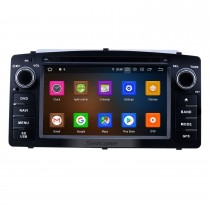 2003-2012 Toyota Corolla E120 BYD F3 6.2 pouces Android 10.0 Radio de navigation GPS avec écran tactile HD Carplay Bluetooth support OBD2