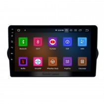 9 pouces Android 10.0 Radio de navigation GPS pour 2015-2018 Fiat EGEA avec support tactile HD Carplay AUX Bluetooth support 1080p